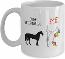Funny Unicorn Gift Mug for Veterinarian - Other Veterinarians Mug - Unicorn Mug