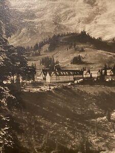 1910 Paradise Inn Rainier National Park Washington Real Photo Post Card Mint