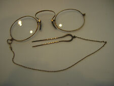 Antique Pinch Nose Eye Glasses with Hair Clip