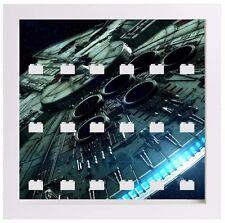 Lego Minifigur Display Case Frame Star Wars Millennium Falcon Minifigs