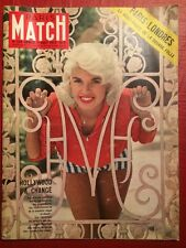 Paris Match 1 Août 1959 Jayne Mansfield Saint-Exupery Hollywood Paris Londres