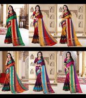 Blouse Saree Indian Sari Designer Readymade Bollywood Wear Party Silk