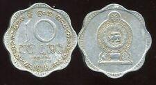 SRI LANKA  10 cents 1978    ( etat )