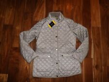 Lucky BRAND Women's Quilted Insulated Barn Jacket Size M Beige Thespot917