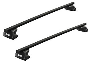 Thule Roof Luggage Rack Evo 7105 7124 5147 Steel For Porsche Cayenne -2017