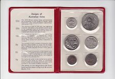 1970 Royal Australian Mint Coin Set UNC Uncirculated F-51