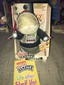 "Gemmy Dancing Hamster ""Hal"" Dances to ""Mr. Roboto"" 2003 W Box"