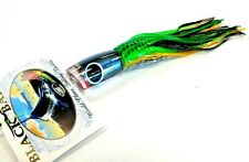 Black Bart Mini 1656 Angled Trolling Lure Medium - Black Prism / Green Black Dot