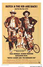 BUTCH CASSIDY AND THE SUNDANCE KID Movie POSTER F Paul Newman Robert Redford
