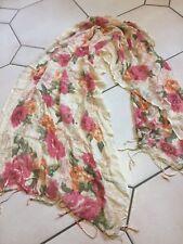 Bufanda Moderno Estilo Vintage Rosas