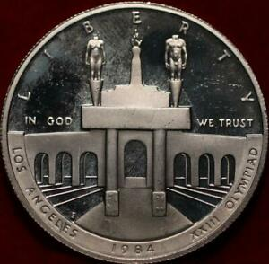 Uncirculated Proof 1984-S San Francisco Mint Olympic Silver Dollar