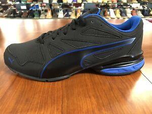 Puma Tazon Modern SL FM Black/Blue Men's Size M Running Training Shoes 190296-07