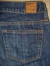 AMERICAN EAGLE Boy Fit Capri Cropped Denim Jeans Womens Size 00 x 24