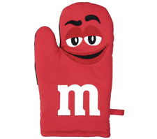 M&M's World Red Character Oven Mitt New with Tag