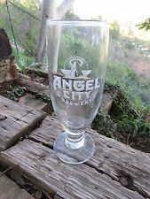 Tulip Stem Beer Glass >< ANGEL CITY Brewery >< Los Angeles, CALIFORNIA Brewing