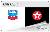 $10 / $25 / $50 ChevronTexaco Gas Gift Card - Mail Delivery