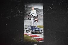 DTM Autogrammkarte signiert Gary Paffett Mercedes 2012
