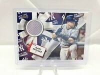 2019 Topps Holiday Gary Sanchez Jersey Relic Yankees