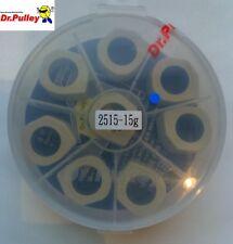 Set de 8 galets Dr Pulley 25x15 15g Kymco AK550  Compatibles origine ou Multivar