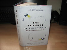 Fredrik Backman - The Scandal Signed 1st doodled Swedish crime thriller Beartown