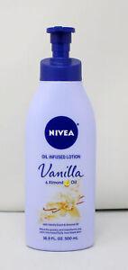Nivea Oil Infused Lotion Vanilla & Almond Oil 16.9 Ounce