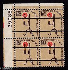 #1610v Rush Lamp Precancel Plate Block/4 Pl#39088 UL  - MNH