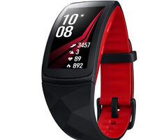 SAMSUNG Gear Fit 2 Pro, Smartwatch, Silikon, S, Rot