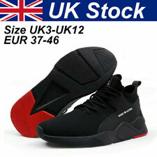 Safety Trainers Boots Shoes Steel Toe Cap lightweight Men Sneakers True UK sizes