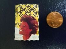 New listing Zina Garrison Female Doubles Tennis Gold Olympics Guyana Perforated Stamp