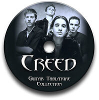 CREED ROCK GUITAR TABS TABLATURE SONG BOOK TUITION SOFTWARE CD