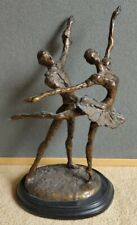 Large Bronze of Two Dancers