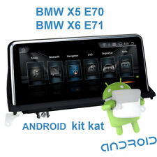 "Autoradio Android GPS écran tactile 10.25"" BMW X5 E70 et BMW X6 E71"