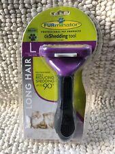 Furminator deShedding Tool for Long Hair Large Cats Over 10lbs