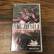 Final Fantasy Ii (Sony Psp, 2007) New Sealed