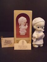 """PRECIOUS MOMENTS """"TIME TO WISH YOU A MERRY CHRISTMAS"""" - #115339 - NEW IN BOX"""