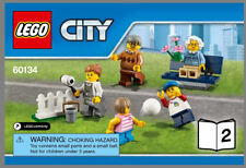 LEGO 60134 Fun in the Park Booklet 2 only Painter Bench Soccer Kids Grandparents