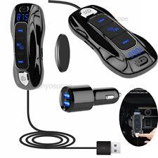Wireless Bluetooth 5.0 FM Transmitter Handsfree QC3.0 Radio AUX Adapter Car Kits