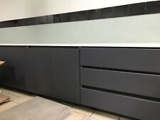 Brand New Complete Kitchen Charcoal Shadowline No Handles Blum Countertops