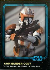 2016 TOPPS STAR WARS TRADER PHYSICAL BLUE CARD #85 COMMANDER CODY W/UNUSED CODE
