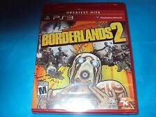 Borderlands 2 for Play Station 3  New Factory Sealed Package