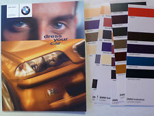 Prospekt BMW Individual  Dress your car mit M5 + L7, 1999, 60 S. + 9 Farbkarten