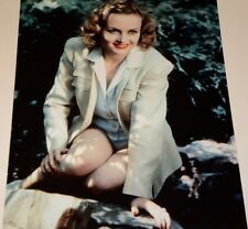 CAROLE LOMBARD /  LOVELY  8 X 10  COLOR  PHOTO