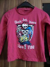 Langarmshirt Shirt dünner Pulli Monsterhigh Gr.140 Versand möglich