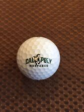 LOGO GOLF BALL-NCAA..CAL-POLY UNIVERSITY MUSTANGS........PROV1X BALL