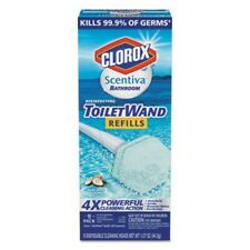 Clorox Scentiva Disinfecting Toilet Wand Refills-Pacific Breeze & Coconut 9count