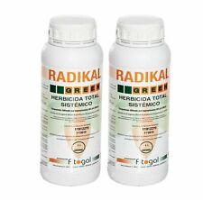 Désherbant Glyphosate Herbicide Total RADIKAL 2x1L Tous jardins LIVRAISON EN 24H