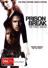 Prison Break Movie: THE FINAL BREAK : NEW DVD