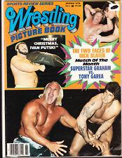 VINTAGE 1978 WRESTLING PICTURE BOOK MAGAZINE BILLY GRAHAM IVAN PUTSKI TONY GAREA