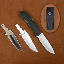Stone River Gear Change-Blade Hunting Knife 2 Ceramic Blades 1 Stainless Blade