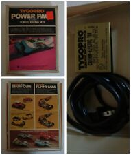 Tyco Pro Power Pack for HO Racing Sets #8767 1975 for use w/ slot car race track